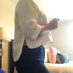 Ivory Contemporary Top